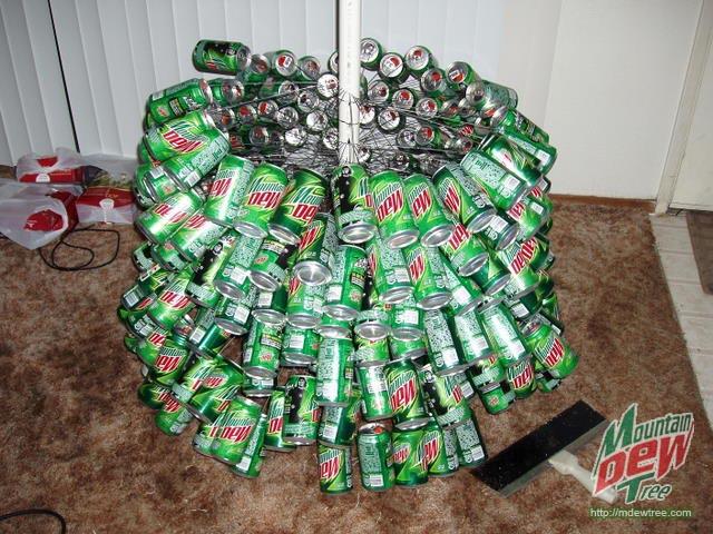 Mountrain Dew Tree - Mountain Dew Christmas Tree