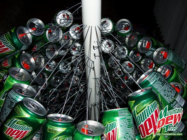 Mountrain Dew Tree. image number 11 of pvc pipe christmas decorations ...